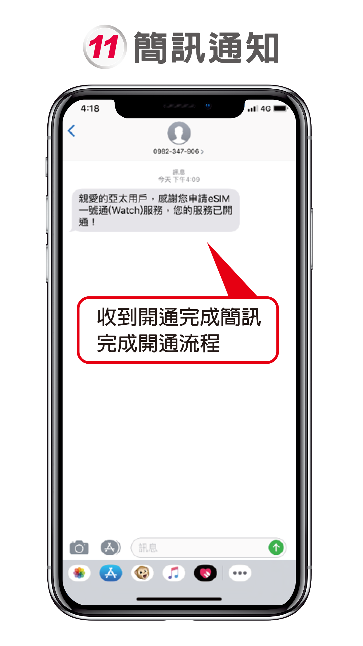 applewatch開通完成